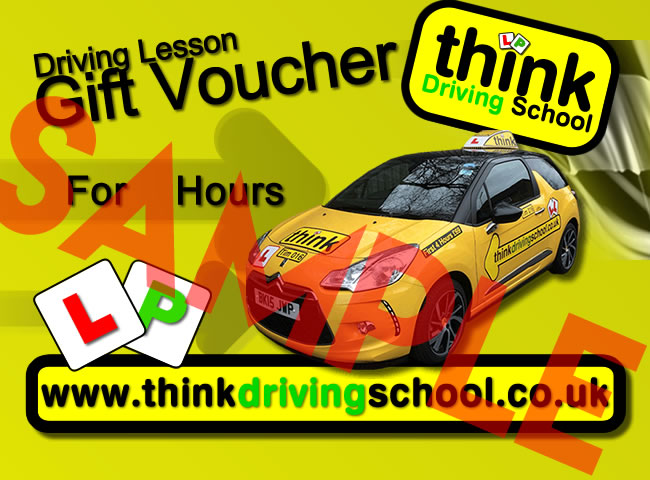 Driving Lesson Gift Vouchers Perfect christmas and birthday gift idea for driving lessons in fleet and church crookham