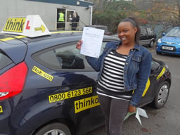 driving lessons Liphook Rob Evamy think driving school grade 5