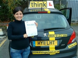 driving lessons Woking Ross Dunton think driving school