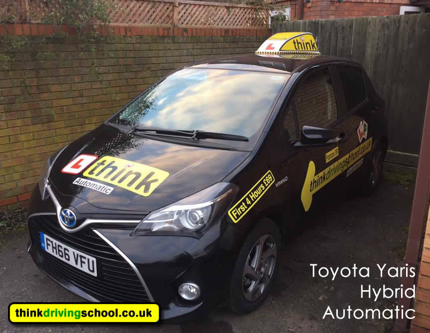 driving lessons Farnham think driving school Grade 5