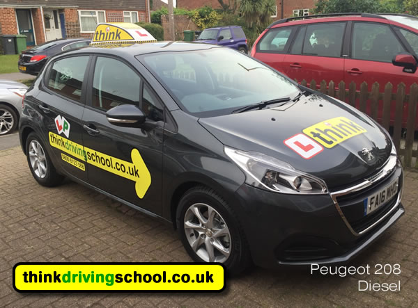 driving lessons Chertsey Jamie cole Byfleet Woking think driving school