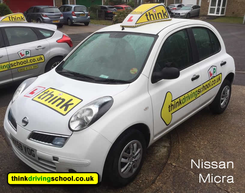 driving lessons Bracknell Duncan Platt think driving school Toyota Yaris