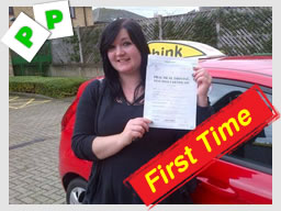 emma from bracknell passed with john mitchell at think driving school