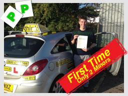 Stuart from Liphook driving lessons bordon Ian weir Grade 6 driving instructor