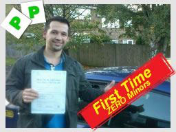 ben from frimley passed with think driving school tim price-bowen