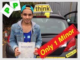 Damion passed with paul folwer driving instructor in harrow