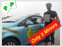 Harrow drivng school passed first time