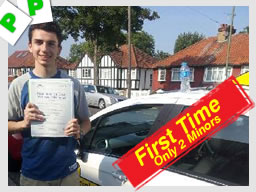 guildford driving school passed first time