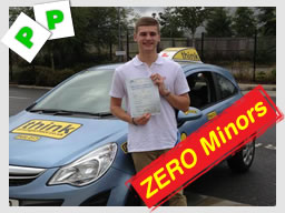Lightwater driving school passed first time