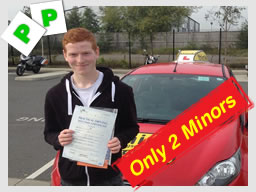 becka from alton driving school passed first time