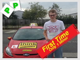 nathen from farnham passed first time with stuart webb