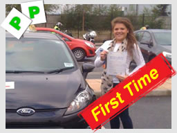 libby from Slough passed after driving lessons in slough with nasreen raja