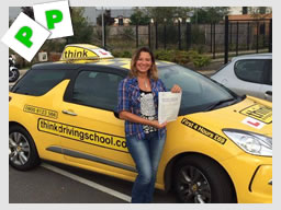 WELL DONE to Sandra from Blackwater who passed today after lessons with @timpricebowen at www.thinkdrivingschool.co.uk