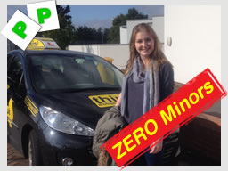 edith from liphook passed with think driving school and zero minors