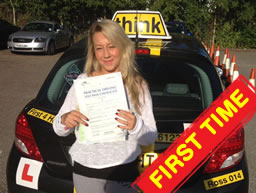 driving lessons Woking and Guildford Ross Dunton think driving school