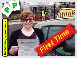 Hannah passed with adam iliffe from high wycombe driving school