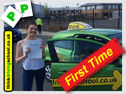 passed with drivnig instructor from alton ian weir ADI