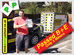 matt from alton B+E  passed with drivnig instructor from alton ian weir ADI