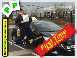 driving lessons aldershot frances Blatch think driving school