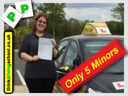 sarah from farnborough passed first time with driving instructor frances blatch