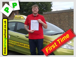 Passed in fareham after driving lessons with Lee patterson
