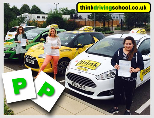 Anais Meaker from alton  passed with drivnig instructor from alton ian weir ADI
