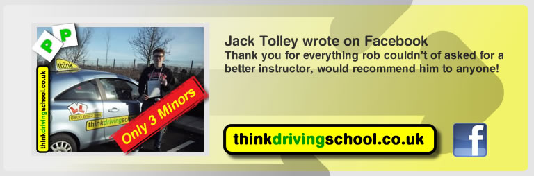 jack tolley passed with rob evamy from bordon driving school