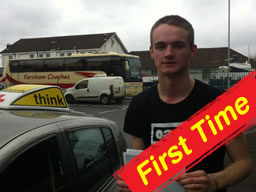 jake passed first time after switching to thing drivng school with adam iliffe from high wycombe