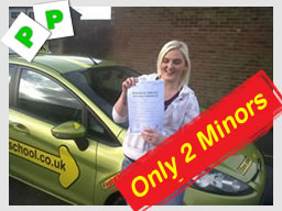 Passed with Driving instructor Lee in Fareham. after driving lessons in Fareham and gosport