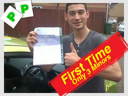 driving lessons Fareham school