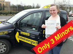 pheonix from bordon passed after driving lessons with rebecca gaywood ADI