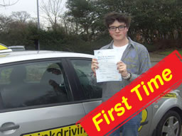 ben from farnham passed after drivng lessons with martin hurley