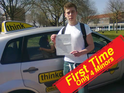 Dave passed after drivng lessons in farnborough with martin hurley
