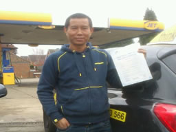 gokul passed with drivng lessons from drivng instructor jamie cole