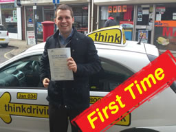 mike from woking passed after driving lessons with jan borzecki