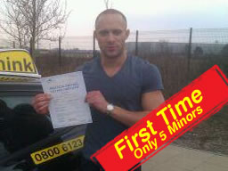 Ronnie from farnborough passed with think driving instructor allan bushell