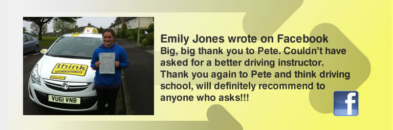 emily jones left this awsome review of pete labrum and think drivnig school