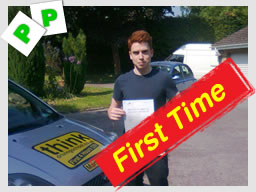 alex from camberley passed with driving instructor martin hurley in farnborough