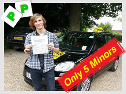 alex from guildfrod passed after driving lessons with driving instructor ross dunton