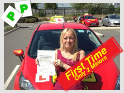 WELL DONE Kirstin Rawlings from Holybourne passed FIRST TIME with Clare Ratcliff from Alton