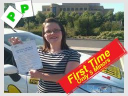 Dione from bracknell passed with driving instructor allan bushell