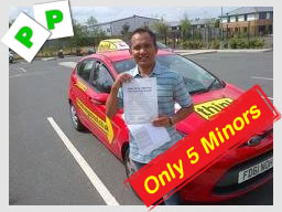 fleet drivng school passed first time