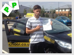 whitehill drivng school passed first time