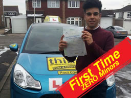 clive tester guildford perfect pass after drivng lessons around guildford