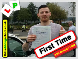 driving lessons Bracknell Duncan Platt think driving school