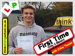 driving lessons Guildford Clive Tester think driving school