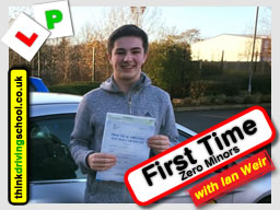 Paul Passed B+E  with driving instructor ian weir from Alton