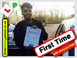 driving lessons Bracknell Duncan Platt think driving school May 2017