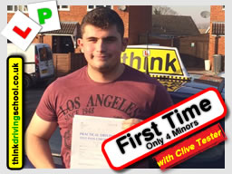 driving lessons Guildford Clive Tester think driving school January 2017