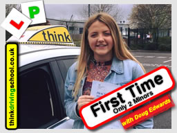 Passed with think driving school in March 2017